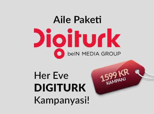 DIGITURK Aile Paketi - 12 ay + 2!